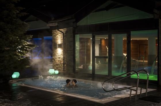 Imagen publicitaria de un hotel-spa